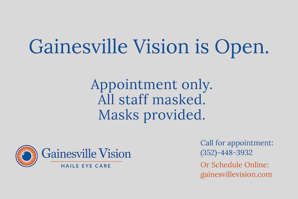 GV is Open. Call to schedule.